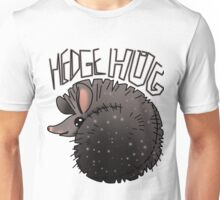 cute hedgehug smiling Unisex T-Shirt