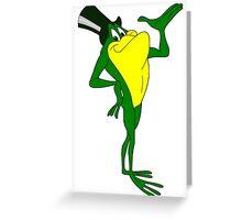 Michigan J Frog Greeting Card