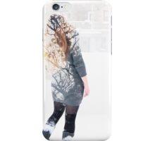Woman tree  iPhone Case/Skin
