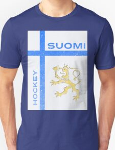 Finland Hockey Unisex T-Shirt