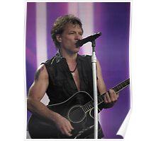 Bon Jovi at Hyde Park 8 Poster