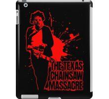 The Texas Chainsaw Massacre (Transparent) Colour iPad Case/Skin