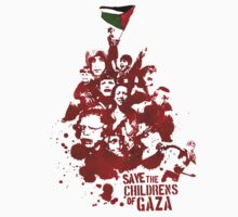 Save the childrens of Gaza by D. Abdel.