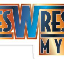 Indies Wrestler - My Way Sticker