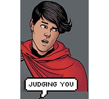 Wiccan is judging you Photographic Print