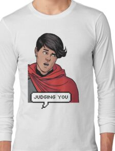 Wiccan is judging you Long Sleeve T-Shirt