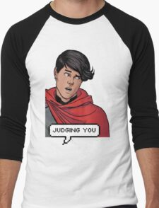 Wiccan is judging you Men's Baseball ¾ T-Shirt