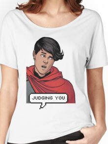 Wiccan is judging you Women's Relaxed Fit T-Shirt