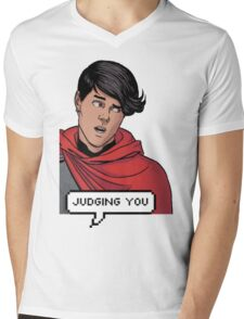 Wiccan is judging you Mens V-Neck T-Shirt