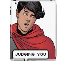 Wiccan is judging you iPad Case/Skin
