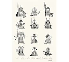 All Warriors Photographic Print