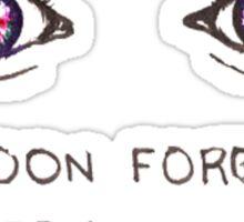 Forget  Sticker