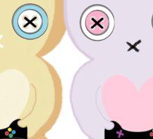 Adorable Gamer ~ Teddy & Bunny Sticker