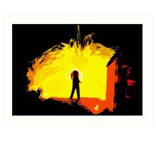Inferno Art Print