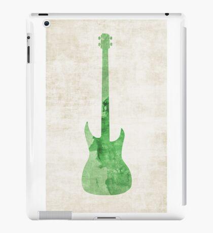 Green Bass iPad Case/Skin