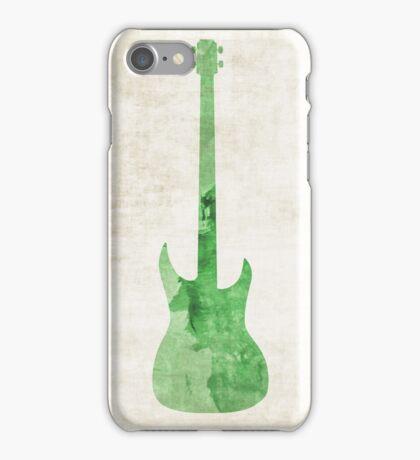 Green Bass iPhone Case/Skin