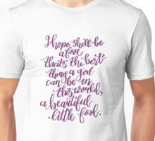 The Great Gatsby Quote Unisex T-Shirt
