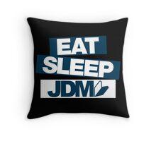 Eat Sleep JDM wakaba (6) Throw Pillow