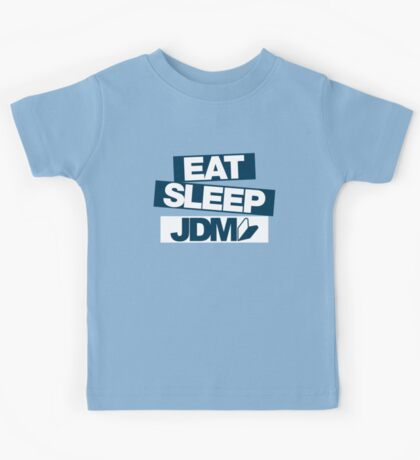 Eat Sleep JDM wakaba (6) Kids Tee