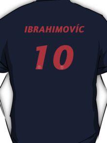 Zlatan Ibrahimović #10 T-Shirt