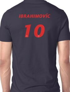 Zlatan Ibrahimović #10 Unisex T-Shirt