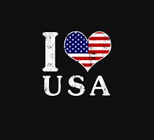 I LOVE USA (white) Unisex T-Shirt