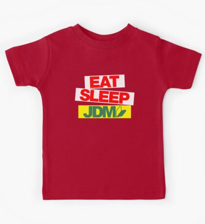 Eat Sleep JDM wakaba (2) Kids Tee