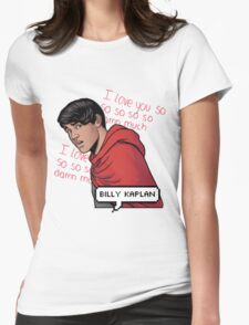 ily billy !!! <3 Womens Fitted T-Shirt
