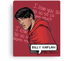 ily billy !!! <3 Canvas Print
