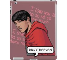 ily billy !!! <3 iPad Case/Skin