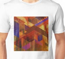 Wrightian Reflections (Square Version) - By John Robert Beck Unisex T-Shirt