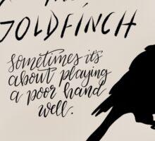 The Goldfinch, by Donna Tartt Sticker