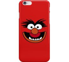 Animal Muppet (Orange Lips&Nose) iPhone Case/Skin