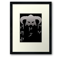 Fus Ro Dah - In Dragon Language Framed Print