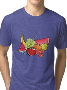 Fruit Salad Tri-blend T-Shirt
