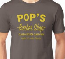 Pop's Barber Shop - Luke Cage Unisex T-Shirt