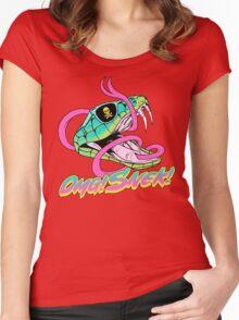 Omg! Snek! Women's Fitted Scoop T-Shirt