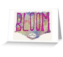 BLOOM by The Morning Birds Greeting Card