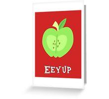 Big Macintosh - Incredibly deep quote Greeting Card