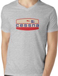 Cessna Vintage Aircraft USA Mens V-Neck T-Shirt