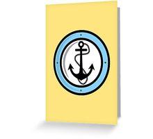 Anchor!  Greeting Card
