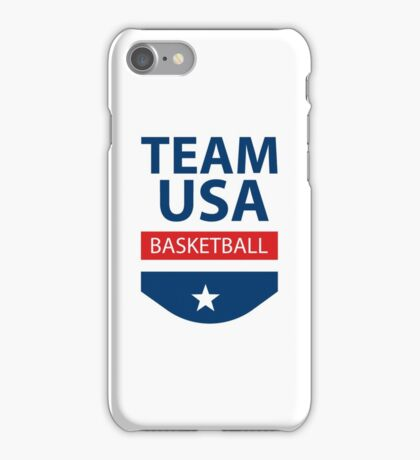 Team USA - Basketball iPhone Case/Skin