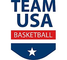 Team USA - Basketball Photographic Print