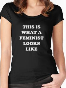 This Is What A Feminist Looks Like Women's Fitted Scoop T-Shirt