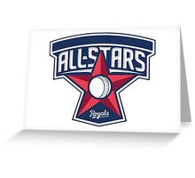 all stars MLB Greeting Card