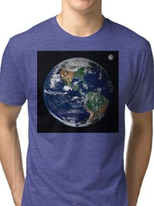 astronomy universe Hip Eco friendly Planet Earth Tri-blend T-Shirt