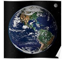 astronomy universe Hip Eco friendly Planet Earth Poster