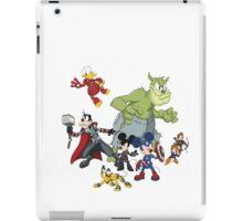 Earth's Mightiest Heroes iPad Case/Skin