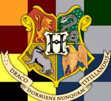 Harry Potter House Colours Sticker