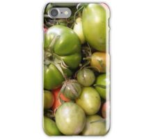 Green Tomatoes Photograph iPhone Case/Skin